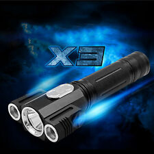 20W XML T6 LED Tactical Police Flashlight Torch Lamp Light 360 Degree rotating