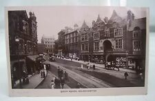 QUEEN SQUARE 1912 WOLVERHAMPTON ANTIQUE SOUTH STAFFS REAL PHOTO POSTCARD*