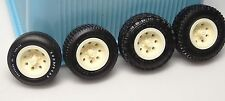 MPC GM's Chevy,GMC, 4X4 6 Lug 8-hole Aluminum Style Resin Rims w/hub 1/25 (4X4F)