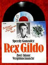 Single Rex Gildo: Speedy Gonzalez / Zwei blaue Vergißmeinnicht (Crystal) D