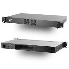 MITXPC M1U04 Mini 1U Mini-ITX Rackmount Case w/250W 80PLUS Flex ATX Power Supply