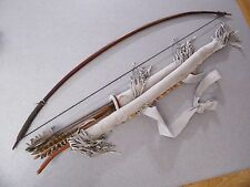 Vintage, early Hand Made, Native American, Plains Bow and Arrow's, Case & quiver