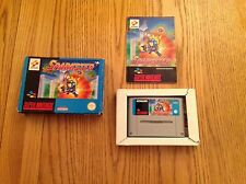 SPARKSTER FOR SUPER NINTENDO, PAL  (SNES)  PAL rare game