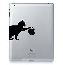 GATTO No2. Apple iPad Mac trasferimento Macbook Adesivo In Vinile Decalcomania.
