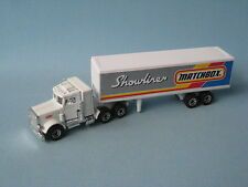 Matchbox Convoy Peterbilt Box Truck Showliner Pre-pro Preproduction Trial