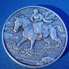 DAR Medal MARGARET CATHERINE MOORE BARRY American Revolutionary War UNCIRCULATED
