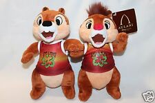 "NEW DISNEY AULANI 9"" CHIP AND DALE HAWAII PLUSH TOY FREE SHIPPING CHIP N DALE"