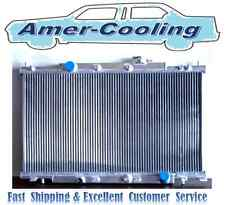 Aluminum Radiator Fit HONDA CRV Element 2002 2003 2004 2005 2006 L4 Row 2 MT M/T