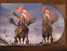 33T.LP.IRON MAIDEN.GHOST OF CANADA.LIVE GENERAL MOTORS 2010.FAN CLUB AUSTRALIE