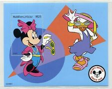Disney Stamps mini-sheet : Minnie & Daisy mini-sheet