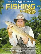 FISHING WITH THE EXPERTS - 3 DVD BOX SET -  DES TAYLOR, MICK BROWN & BOB NUDD