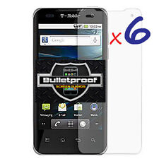 6X Clear LCD Screen Protector Accessories for LG Optimus G2X P990