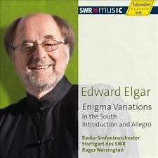ELGAR: ENIGMA VARIATIONS; IN THE SOUTH; INTRODUCTION AND ALLEGRO (NEW CD)
