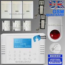 LCD wireless Security Dual GSM Autodial Home Casa Ufficio Antifurto allarme Intruder
