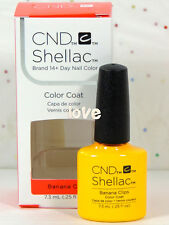 CND Shellac Polish UV Nail Gel Base Top Coat /Brand New Gel Color #3- Choose Any