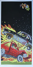 A 1971 Chevy Nova - Death Proof print by Tim Doyle - Tarantino