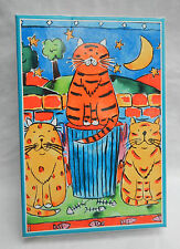 Lisa Keaney Designs - Box of 12 Cat Greetings Cards with Envelopes - No Verse