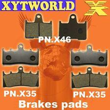 FRONT REAR Brake Pads for Suzuki GSXR 1000 K1/K2 2001-2002