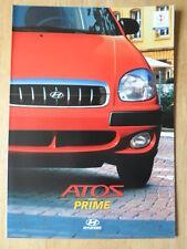 HYUNDAI ATOS PRIME 2002 sales brochure prospekt - German text Swiss Mkt