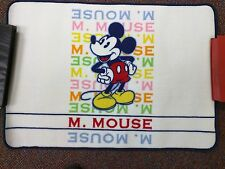 "Disney Mickey Mouse Nylon Bath Mat Multicolor Magic 32"" x 32"" BRAND NEW"