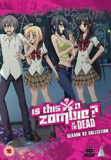 Is This A Zombie ? Of The Dead Complete Season 2 DVD New & Sealed ANIME 2 MVM