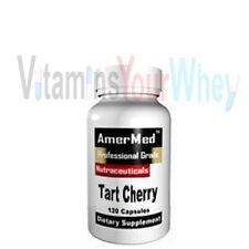 Tart Cherry Extract 10:1 550mg 120 capsules great alternative to Melatonin