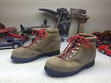 PIVETA FOR DMC LACE UP DISTRESSED BROWN LEATHER MOUNTAINEER BOSS WORK BOOTS 10 B
