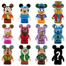 Disney Mickey's Christmas Carol Series Vinylmation ( Complete Set of 13 )