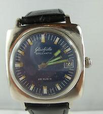 """⭐⭐ Vintage """"vidriería"""" spezimatic Automatik reloj Hombre Pulsera de cuero ⭐⭐ p 61"""