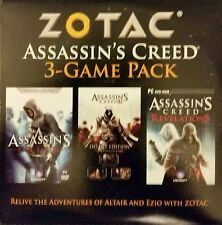 Assassin's Creed (3 Game Bundle with I, II, and Revelations)