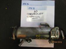 2010 Chevrolet Captiva 2.0 Diesel EGR Refroidisseur échangeur de chaleur 96817829