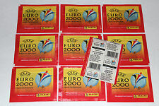 PANINI EM EC EURO 2000 00 – 10 X BUSTA BUSTINA packet sobre POCHETTE vers. normale