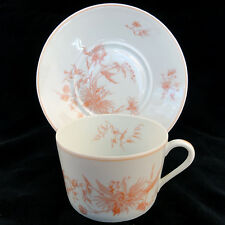 VIEUX ROSE Georges Boyer Limoges Cup & Saucer NEW NEVER USED made in France
