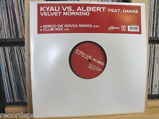 "★★ 12"" Maxi - KYAU vs. ALBERT feat. DAMAE - Velvet Morning (Mirco De Govia RMX)"