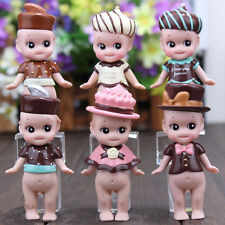 6pcs Sonny Angel Valentine's Day Series Mini Action Figure Collection Kid Toy