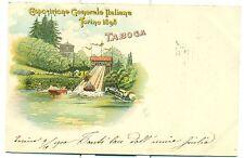 TORINO 1898 - ESPOSIZIONE GENERALE ITALIANA Taboga