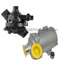 ENGINE THERMOSTAT ELECTRIC WATER PUMP for BMW 11537549476 + 11517586925 SET 2