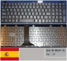 Clavier Qwerty Espagnol MSI MS1683 MS-1683 CR600 CX600 LG E500 MP-08C23SP-359