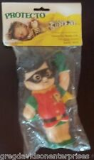 Robin Super Juniors Jr's Protecto Squeeze Toy 1978 MIP Sealed Batman