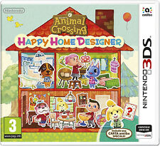 Brand New Sealed Animal Crossing Happy Home Designer Nintendo 3DS Game