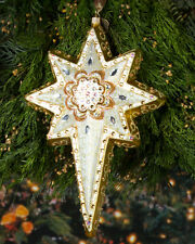 Jay Strongwater Nativity Star of Bethlehem Christmas Ornament Swarovski Elements
