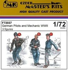 CMK CZECH MASTER'S KITS F72037 - GERMAN PILOT AND MECHANICS WWII - 1/72 RESIN