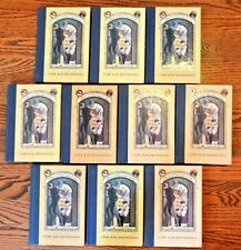 Guided Reading Set of 10 HB Series of Unfortunate Events Book 1 Bad Beginning