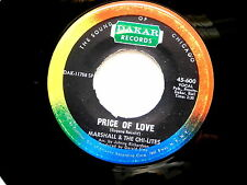 MARSHALL & CHI LITES~PRICE OF LOVE~DAKAR~VG++~ BABY IT'S TIME~~ NORTHERN SOUL 45