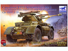 Bronco 1/35 Canadian T17E1 Staghound Mk.I Late w/60LB Rocket Launchers #35017