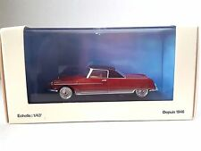 GAMME NOREV COLLECTION CITROEN DS DANDY RED/BLACK 1:43 SCALE NEW IN BOX