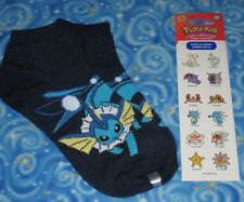 New Pokemon Vaporeon & More Gift Lot Authentic Great Items Next Day USA Shipping