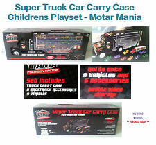 Super Truck Car Carry Case - Childrens Playset - Motar Mania * PURCHASE TODAY *