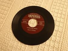 NELLIE LUTCHER HURRY ON DOWN/I NEVER GET TIRED IMPERIAL 5436