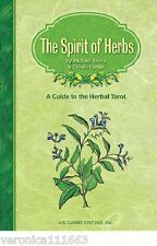 Spirit of Herbs NEW Book Companion to Herbal Tarot Spiritual properites meanings